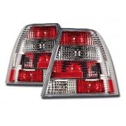 Stopuri Clare VW Bora 1J 99-06 cristal alb