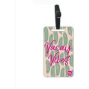 Nutcaseshop Vacay Vibes Leaves Luggage Tag(Multicolor)