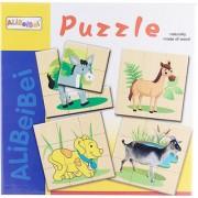 Creative Jack Wooden Puzzle - Animals (Donkey Dog Horse Goat)