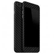 "Apple iPhone 7 Plus (5.5"") FoliaTa Skin Kit Carbon Fata / Spate, Black"
