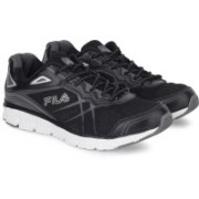 Fila MEMORY PANORAMA Running Shoes For Men(Black, White)