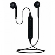 sports headset Neckband Wired Headphones With Mic S6 (BLACK)