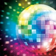 Disco szalvéta 20 db-os