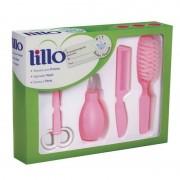 Kit Lillo Higiene Recém Nascido Rosa