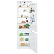 Combină frigorifică încorporabilă Liebherr ICUS 3324, 274 L, SmartFrost, Siguranţă copii, SuperFrost, Iluminare cu LED, Display, Control taste, H 178 cm, Clasa A++