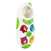 Phenovo Baby Toy with Sound and Light Child Music Phone Learning Study Baby Cell Phone Educational Toy White