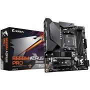 MB Gigabyte B550M AORUS PRO, AM4, micro ATX, 4x DDR4, AMD B550, 36mj