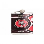 Great American Products Stainless Steel NFL Team Flasks San Francisco 49ers Gray