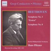 L Van Beethoven - Symphonies No.3&8 (0636943191026) (1 CD)