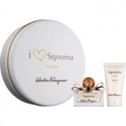 Salvatore Ferragamo Signorina Eleganza coffret V. Eau de Parfum 30 ml + leite corporal 50 ml