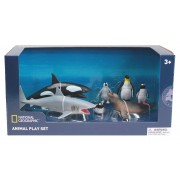 Set 7 figurine Animalute polare National Geographic, 3 ani+