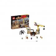 LEGO Super Heroes Spider-Man: Rhino en Sandman superschurk-samenwerking 76037