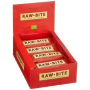 Raw Bite Rohkost Riegel bio - 12x50g - Erdnuss