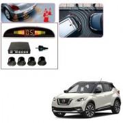 Auto Addict Car Black Reverse Parking Sensor With LED Display For Nissan Kicks