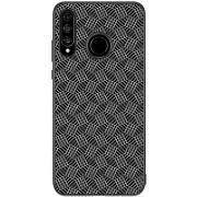 Nillkin Synthetic Fiber Plaid tok Huawei P30 Lite készülékhez, fekete