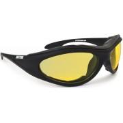 Bertoni AF125A Solglasögon Svart Gul en storlek