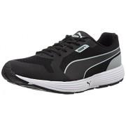 Puma Men's Future Runner II Idp Puma Black and Quarry Running Shoes - 11 UK/India (46 EU)