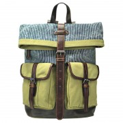Licence 71195 Jumper II Canvas Backpack Bag Beige LBF10778-BE