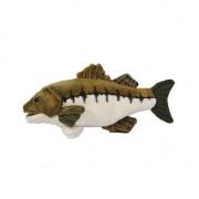 Geen Pluche baars vis knuffel 25 cm