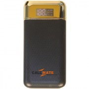 Callmate Y9 10000 mAh Power Bank Dual USB Charging Port - Black