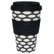 Ecoffee Take Away Mugg Svart Basketkorg
