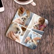 Fényképes poháralátét 4 képpel