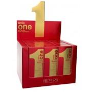 Revlon Expositor 12 uds Uniq One 10 En 1 Professional Hair Treatment 150ml + 2 Uniq One 40ml de REGALO