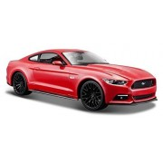 2015 Ford Mustang GT 5.0 Red 1 24 Scale Car Model By Maisto