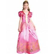 Disfraz princesa rosa niña L 10-12 años (130-140 cm)