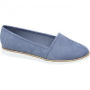 Graceland Lichtblauwe loafer Graceland maat 39