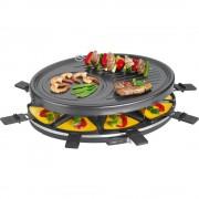 Raclette roštilj Clatronic RG 3517 8 tavica, crne boje