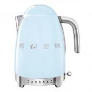 SMEG Retro Vattenkokare variabel temperatur Blå 1,7 L