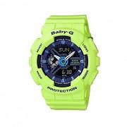 casio baby-g BA-110PP-3A 100m reloj digital analogico impermeable para mujer reloj deportivo con correa de resina-verde