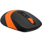 Оптична мишка A4tech FG10 Fstyler, безжична, Черен/Оранжев