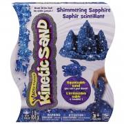 Kinetic Sand - Set nisip kinetic Pietre pretioase, albastru