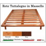 ErgoRelax Rete in Legno Mod. Tuttalegno Massello 90X190/195/200 100% Made in Italy
