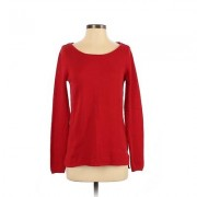 Old Navy Long Sleeve Top Red Solid Scoop Neck Tops - Used - Size Small