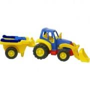 Tractor cu remorca roaba Miniland