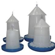 Hranitor pasari curte, cu capac, 3 kg, 34290, Horizont