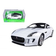 Welly 2015 Jaguar F-Type Coupe 1/24 Scale Diecast Model Car White
