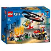 Lego 60248 Lego City Brandweerhelikopter Reddingsoperatie