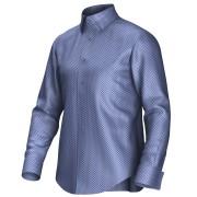 Maatoverhemd blauw 52141