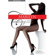 Marilyn - Elegant fishnet tights Casting 57
