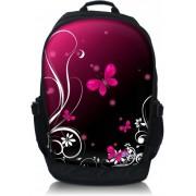 Laptop rugzak 15.6 inch roze vlinders - Sleevy