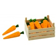 Fa játék zöldség, sárgarépa