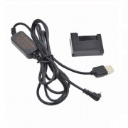 AC adapter USB ACK-DC80 coupler DR-80 NB-10L replace Canon