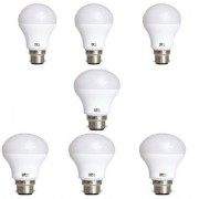 Alpha B22 9-Watt LED Bulb (Pack of 7 Cool Day Light)