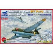 Bronco Models 1/72 Blohm & Voss Bv P178 Dive Bomber Jet. Gb7001-Bronco Models