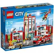 Set de constructie LEGO City Remiza de pompieri
