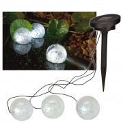 HI Solar LED Floating Pond Light 9 cm